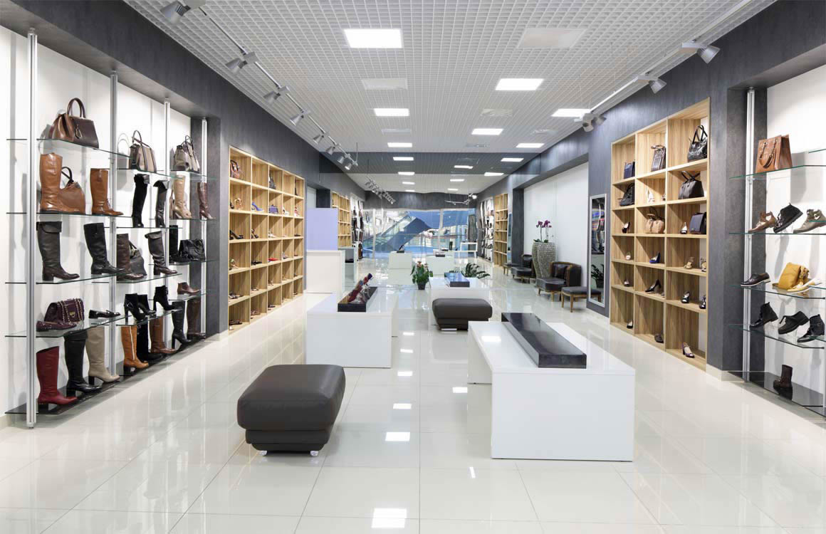Cleaning solutions for retail premises in Halton.