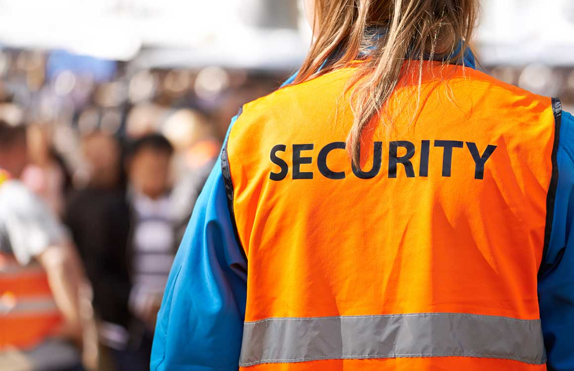 need security guards for charity event