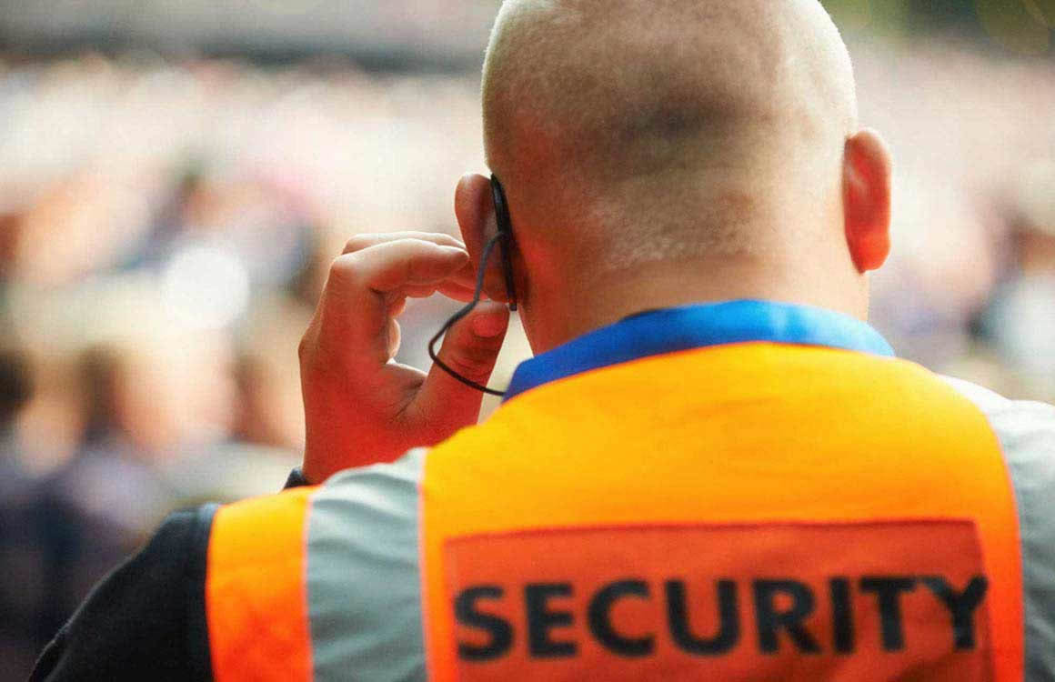 Industrial industry security guards