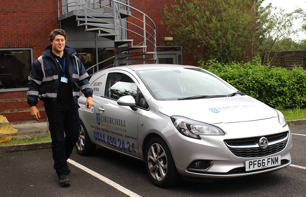 Need Newcastle Under Lyme mobile security patrols?