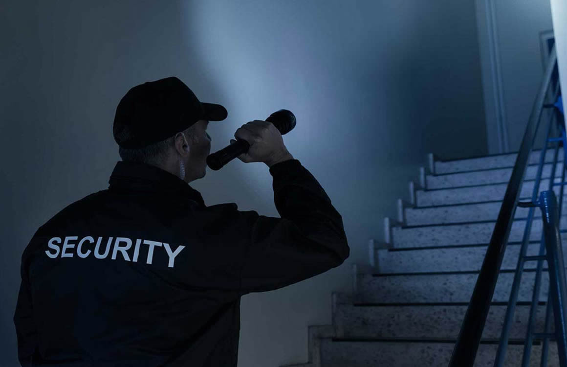Hire night watched security officers in Exeter