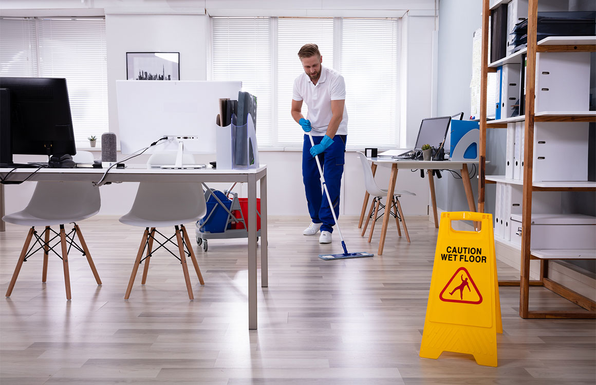 Professional cleaning services for offices