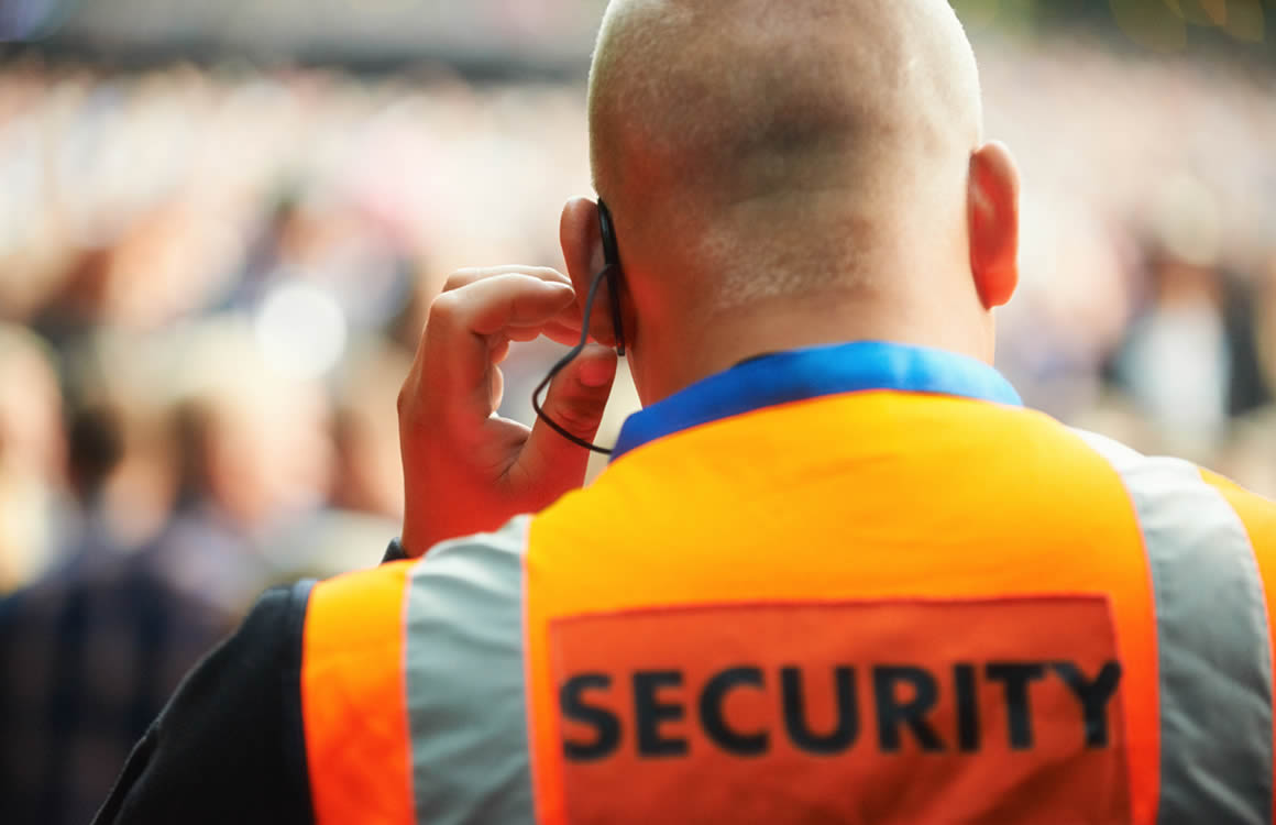 Hire manned security officers in the South West