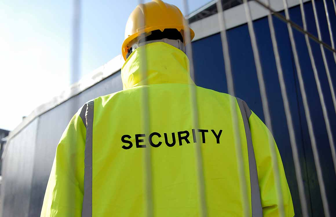 Hire trained static security guards