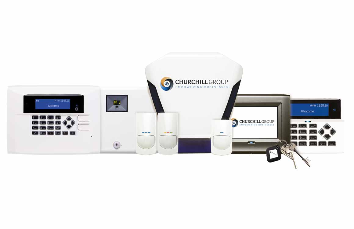 hire intruder alarms with churchill group